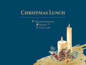 Christmas Lunch at Murano Restaurant