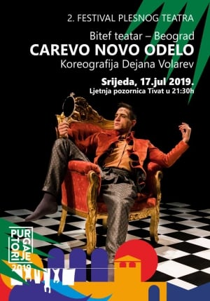 Festival of Dance Theatre 'Carevo Novo Odelo'