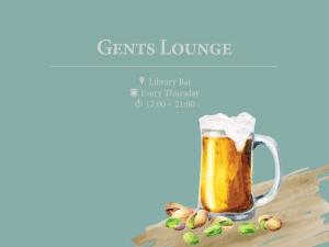 Gents Lounge at Library Bar