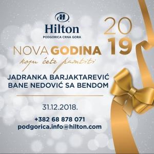 Hilton Podgorica New Year 2019.