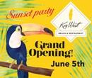 Key West Beach Grand Opening