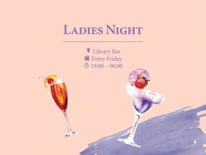 Ladies Night at Library Bar