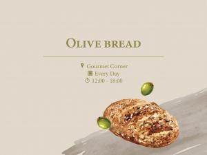 Olive Bread at Gourmet Corner
