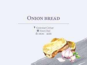 Onion Bread at Regent Porto Montenegro