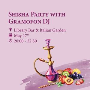 Shisha Party with Gramofon DJ