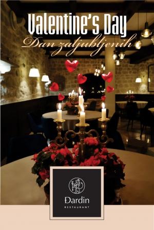 Valentine's Day at Restaurant Đardin