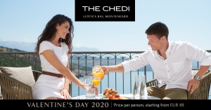 Valentine's Day at The Chedi Lustica Bay 2020
