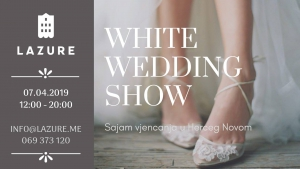 White Wedding Show at Lazure Hotel&Marina