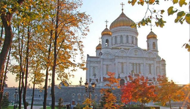 Autumn in Moscow 2014.