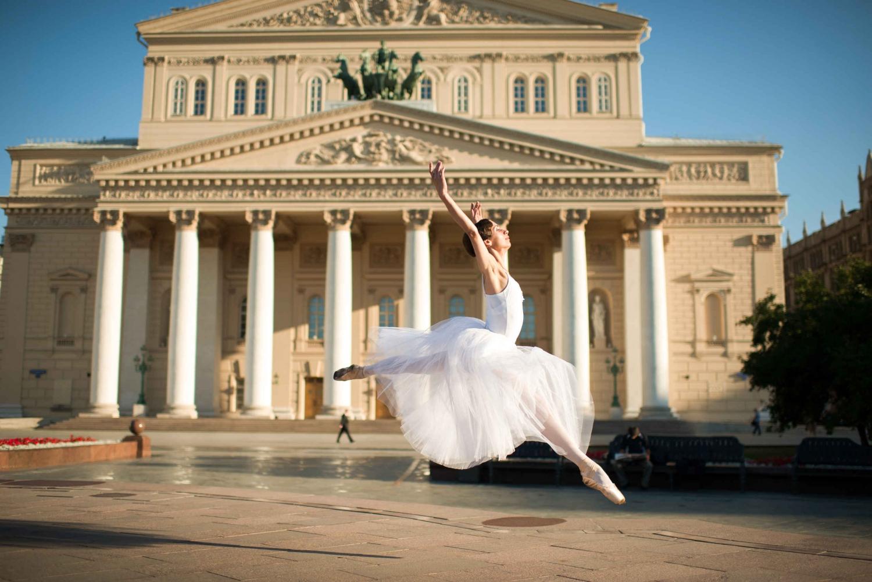 фото балерин в москве территории