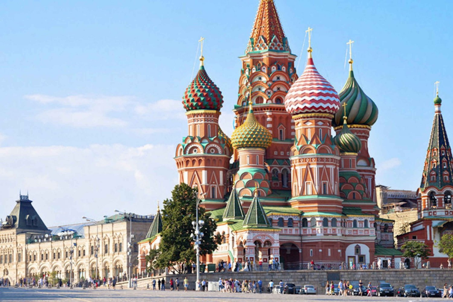 2-Hour Red Square and Zaryadye Park Private Tour