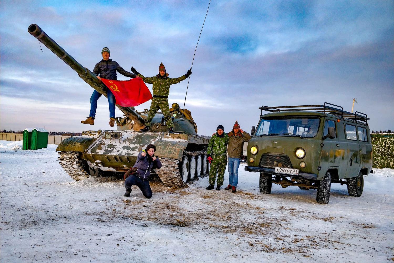 8-Hour Tank Riding and Bazooka Military Experience