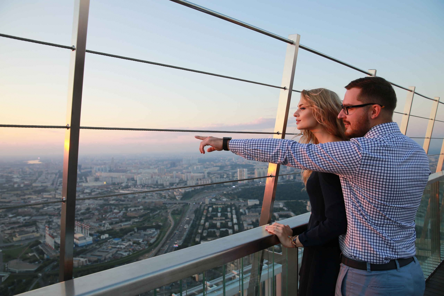 92nd Floor Open Observation Deck in Oko Tower