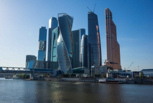 Along the Moscow River: Private Boat Trip
