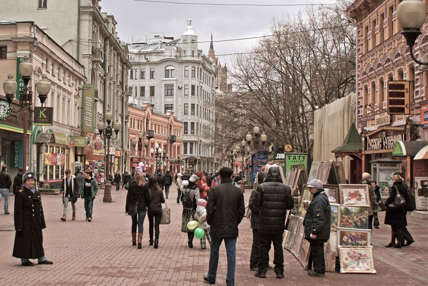 Arbat Street Historical Walking Tour