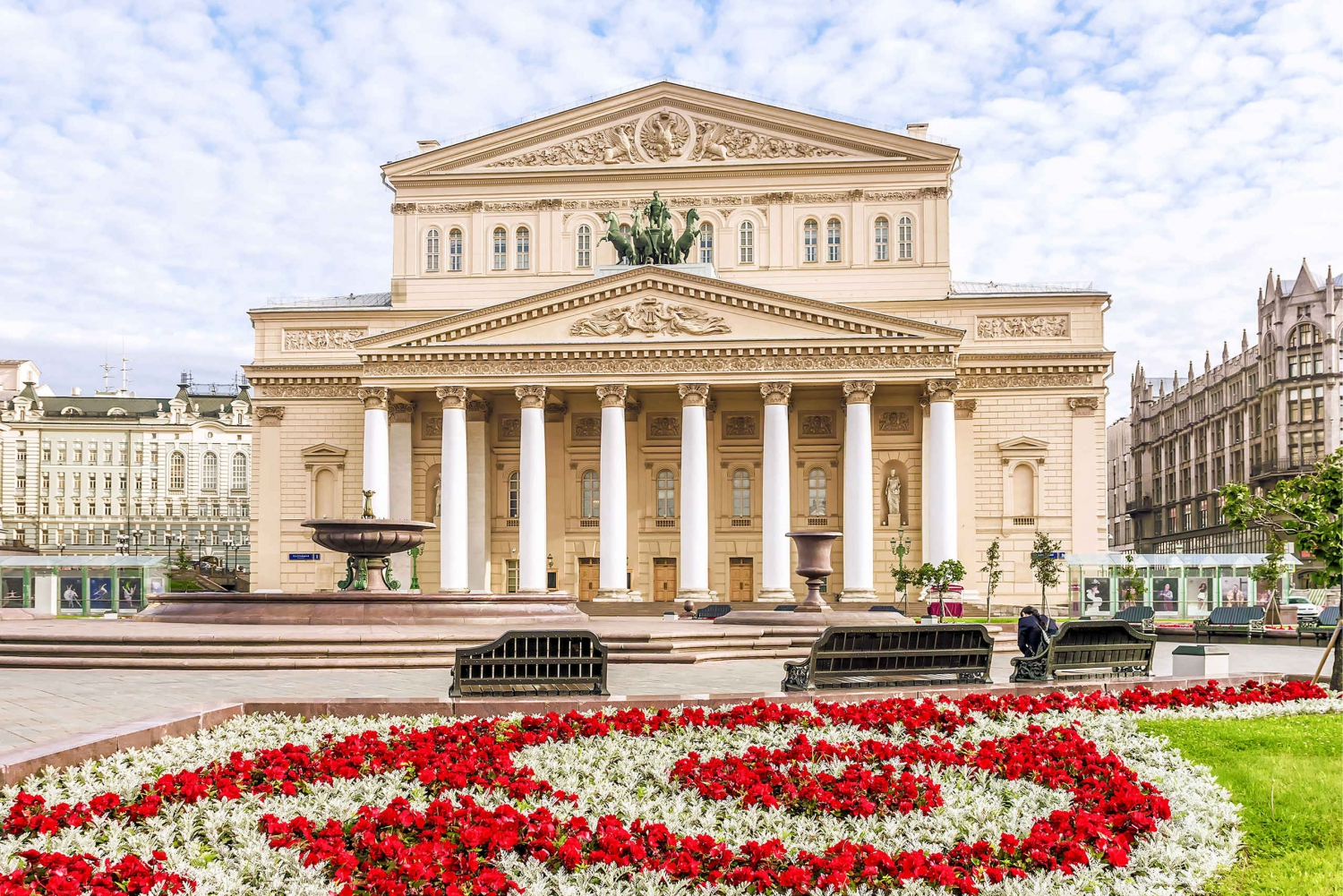 Bolshoi Theater Backstage Tour with Hotel Pick-Up