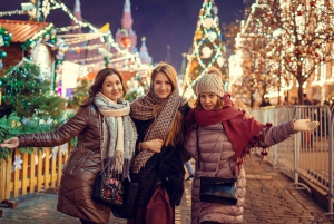 Christmas Lights and Christmas Markets in Moscow
