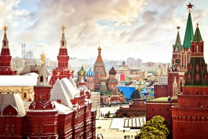 City Sights, Metro & Kremlin Museum Tour with Lunch