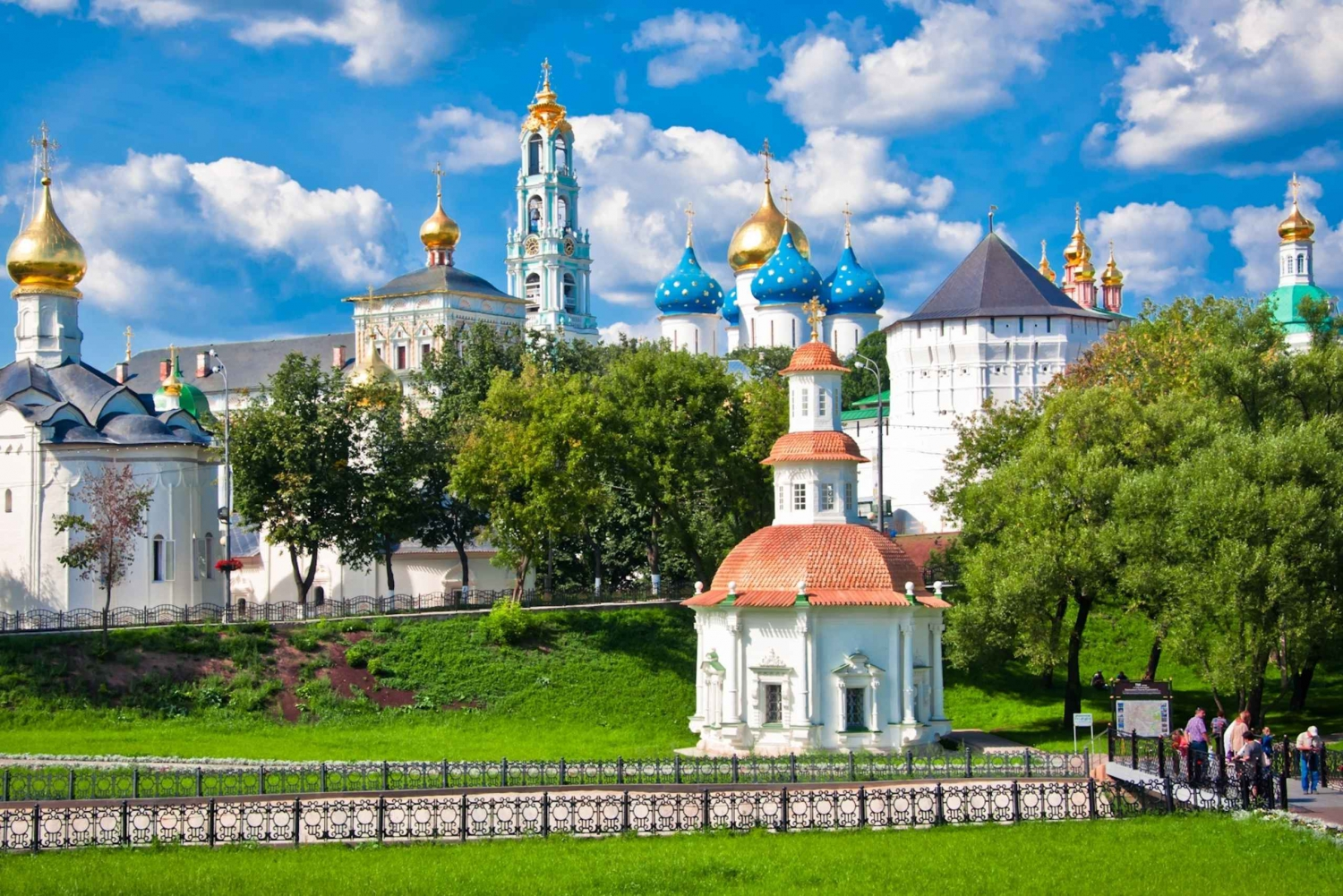 From 5.5-Hour Tour to Sergiyev Posad in Spanish