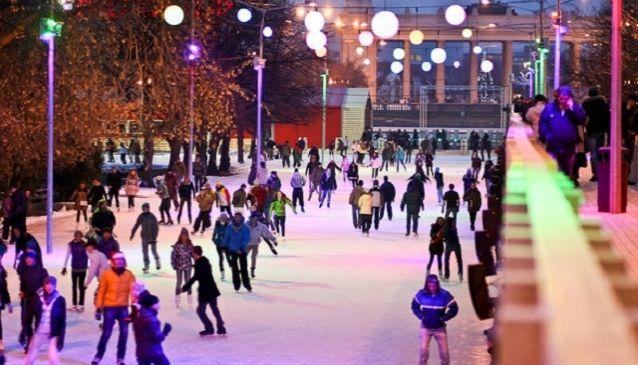 Gorky Park skating rink