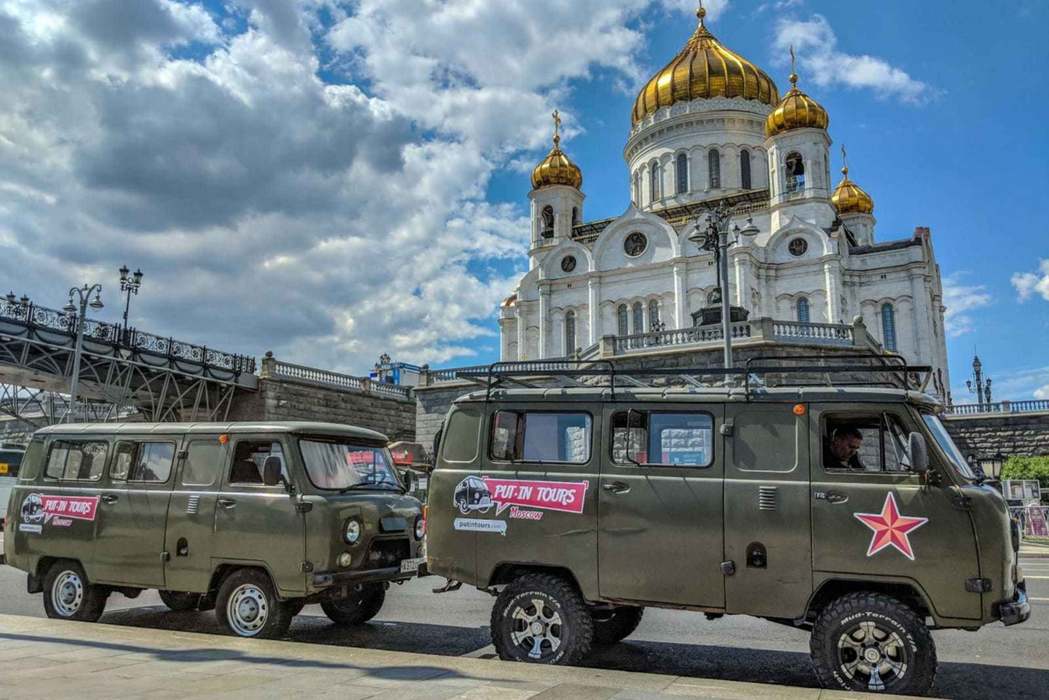 Guided City Tour by Soviet Van