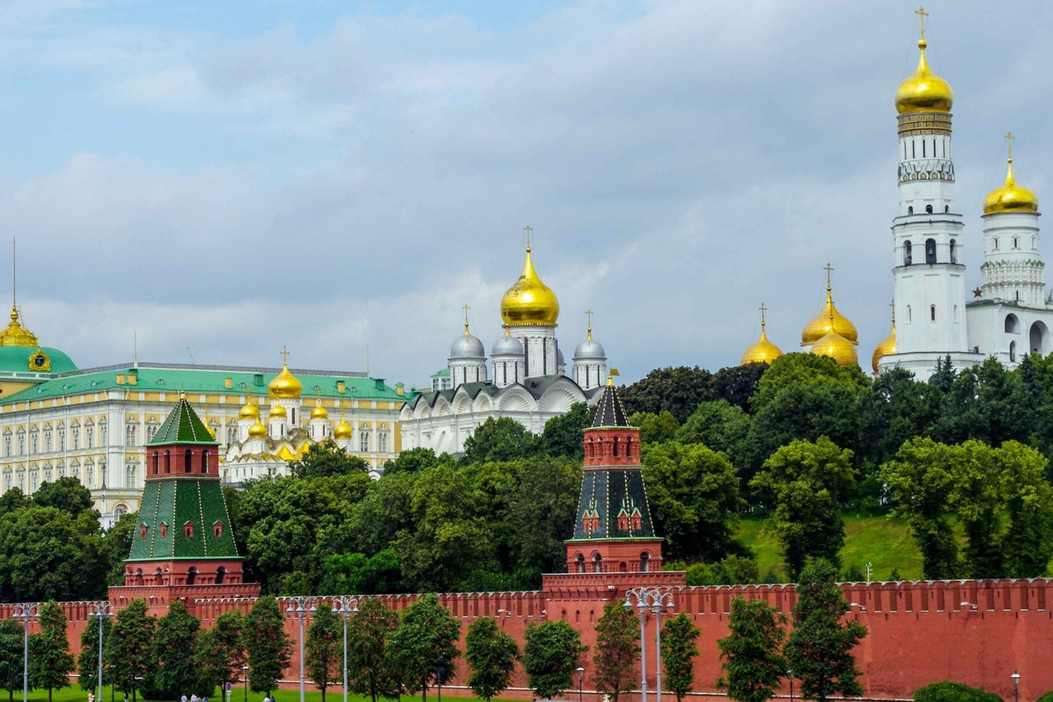 Guided Red Square to Zaryadie Park Walking Tour
