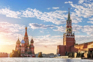 Guided Tour of Red Square, Kremlin & Metro
