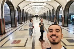 Historical Walk with Metro, Cathedral, & Arbat Tour
