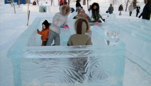 Ice labirint in VVC