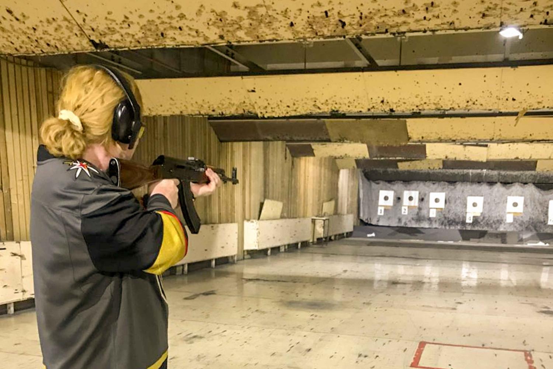 Kalashnikov Shooting Range Session
