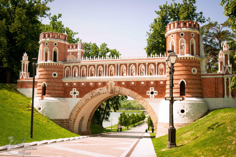 Kolomenskoye and Tsaritsyno Palace Tour in Spanish