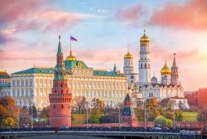Kremlin, Armoury Chamber and Diamond Fund Tour