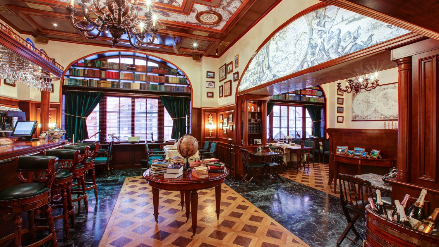 Russian Geographic Society restaurant