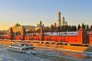 Moscow: 2.5-Hour Luxury River Cruise with Dining Option