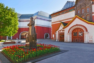 Moscow: 3-Day Guided City Walking Tour with Boat Trip