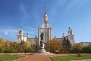 Moscow: 4-Hour Panoramic Private Tour by Vehicle
