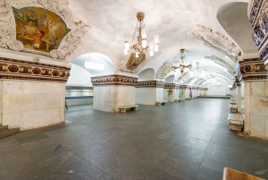 Moscow: Bunker-42, Dinner, and Moscow Metro Guided Tour