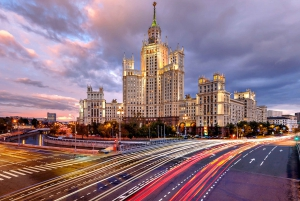 Moscow by Night: Four-Hour Sightseeing Tour By Car