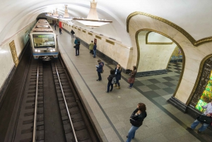 Moscow: City and Metro Guided Tour with Lunch and Bunker-42