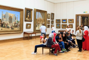 Moscow: City, Metro & Tretjakov Art Gallery Tour with Lunch