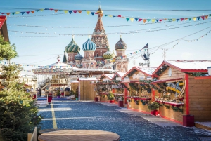 Moscow: City Sights, Metro & Kremlin Museum Tour with Lunch