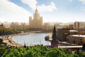 Moscow: City Walking Tour with Rooftop View