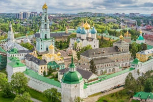 Moscow: Day Tour to Sergiev Posad with Banya & Dinner
