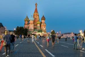 Moscow: Downtown Walking Tour
