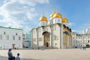 Moscow: Full-Day Private Walking Tour with Kremlin Entrance