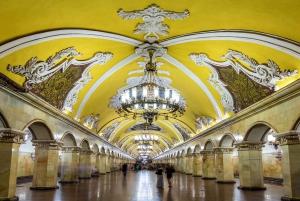 Moscow: Guided Metro & Museum of Cosmonautics Tour