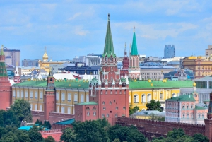 Moscow: Guided Rooftop Experience