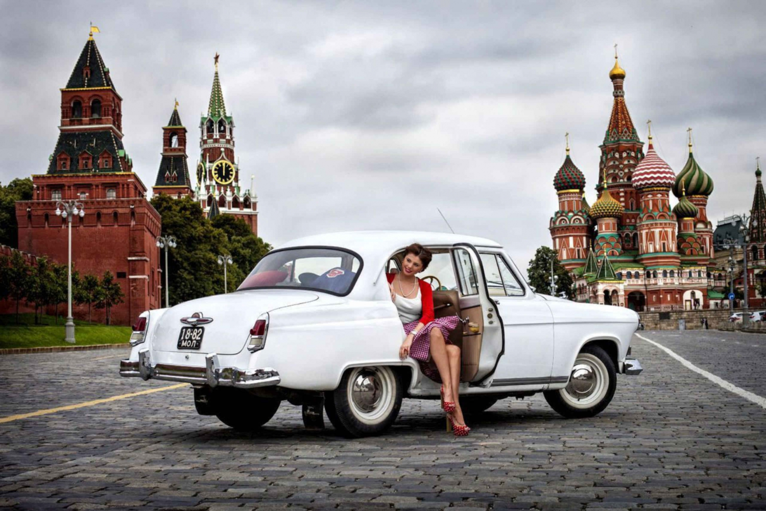 Moscow Highlights Private Driving Tour