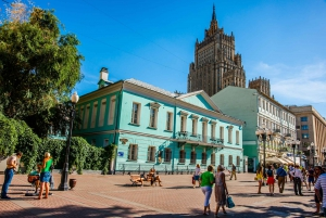 Moscow: Historical Walk with Metro, Cathedral, & Arbat Tour