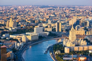 Moscow In Motion: 5-Hour Panoramic Tour